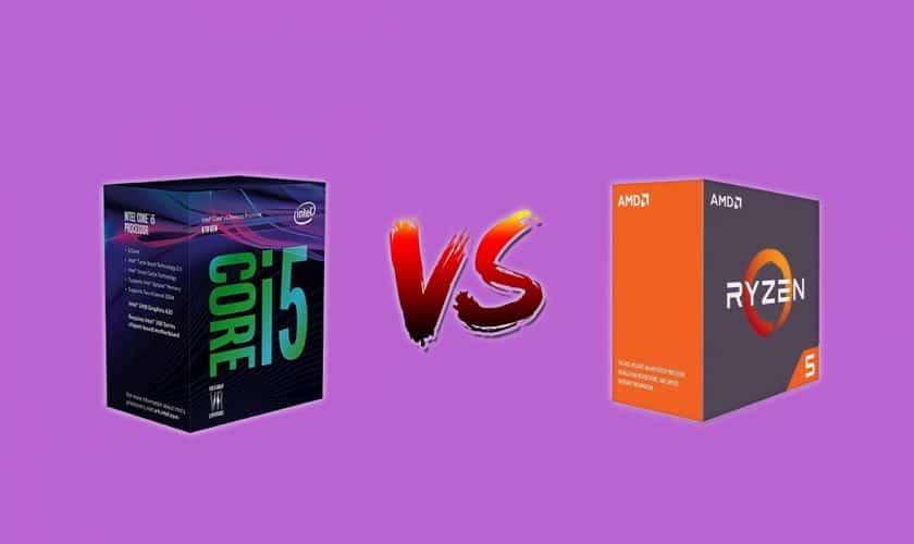 core i5 vs ryzen