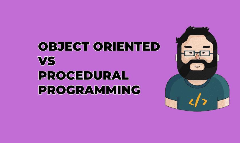 oop vs procedural programming