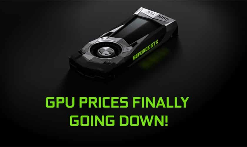 GPU Price down buy new one