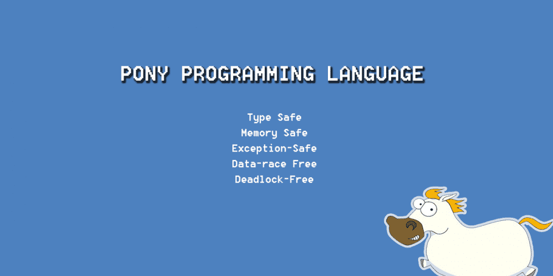 pony programming language