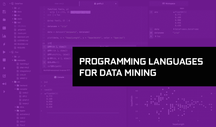 programming languages for data mining