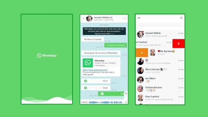 whatsapp winodws uwp app windows 10