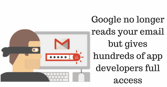 Google No Longer Reads Your Mails