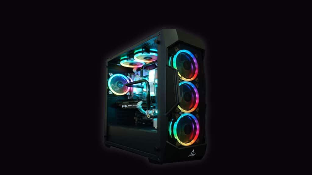 build RGB gaming pc under 7500 INR