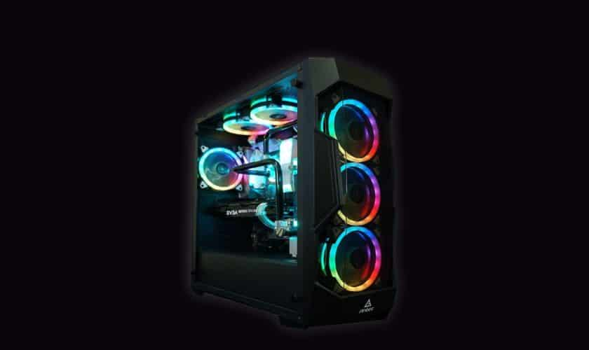 build RGB gaming pc under 7500 INR