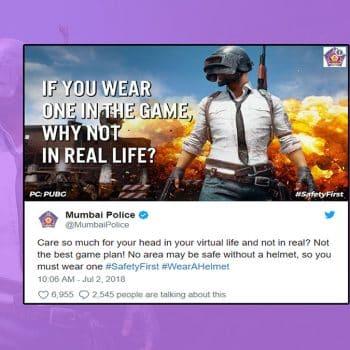 mumbai police pubg tweet
