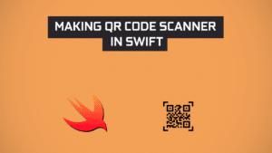 QR code scanner in swift