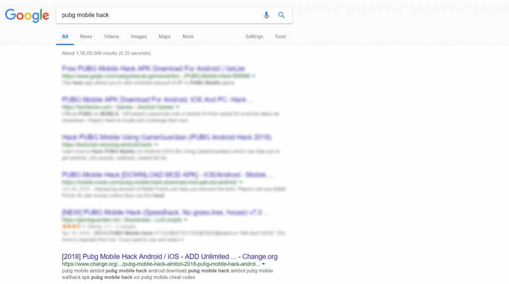 change.org and google search being abused by scammers