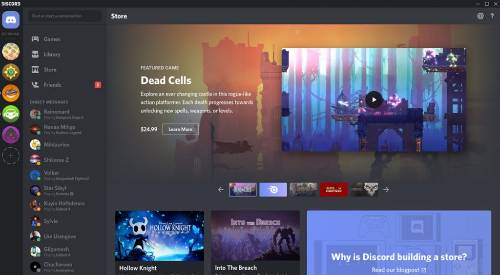 discord pc game marketplace