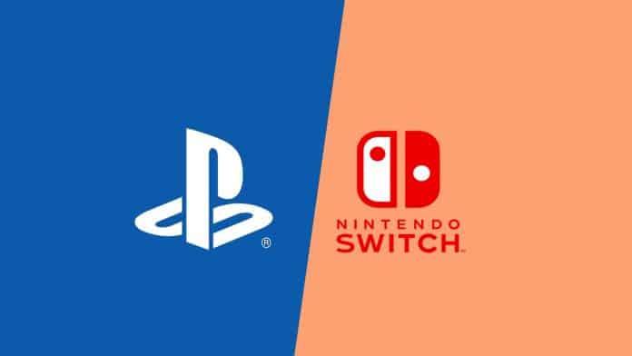 nintendo switch vs ps4 console gaming