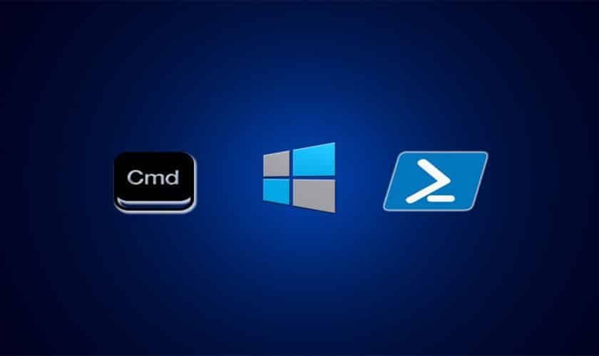 Difference between command prompt and powershell