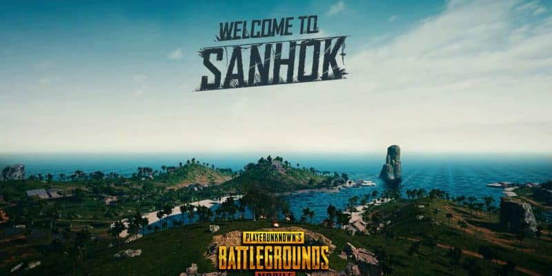 sanhok on pubg mobile