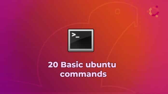 20 basic ubuntu commands for beginners