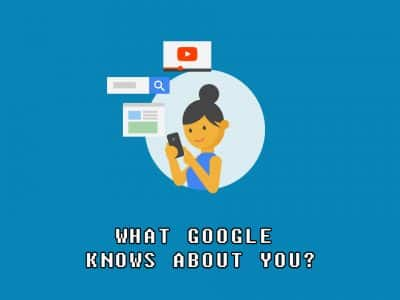Everything Google knows about you