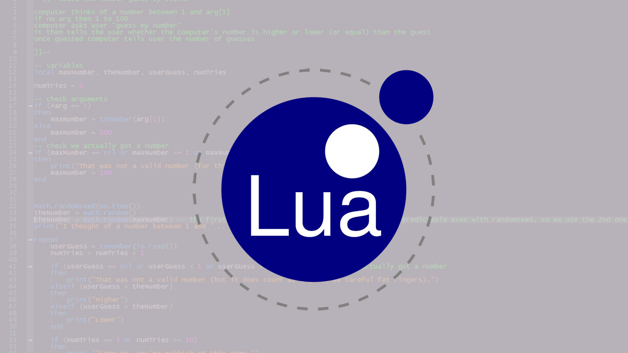Lua Programming Language