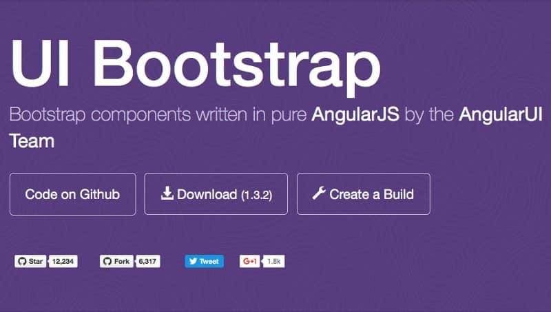 UI bootstap