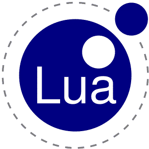 lua programming language logo
