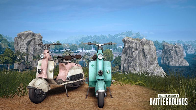 scooter on pubg mobile
