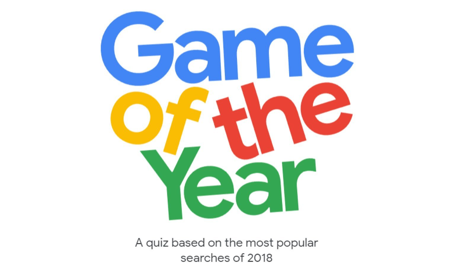 google game of the year