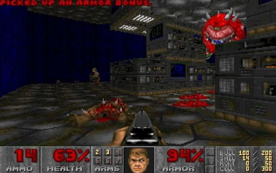Doom online browser game-compressed