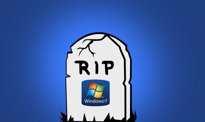 Windows 7 final de soporte