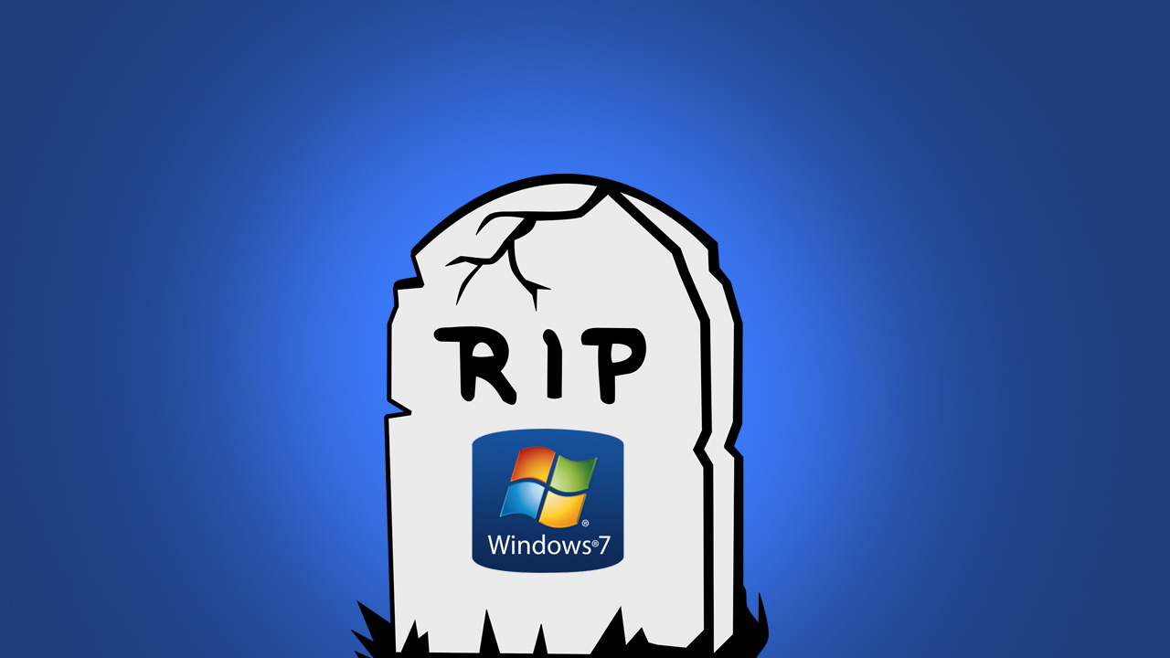 Windows 7 support ending
