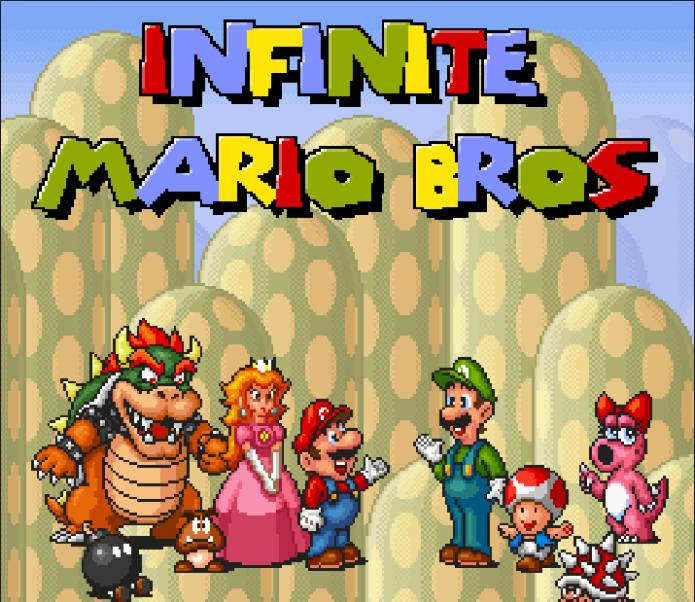 infinite mario flash game-compressed