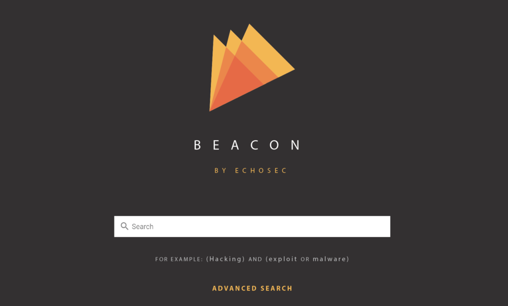 Beacon search engine