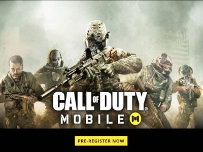 Call of duty mobile pre-registration