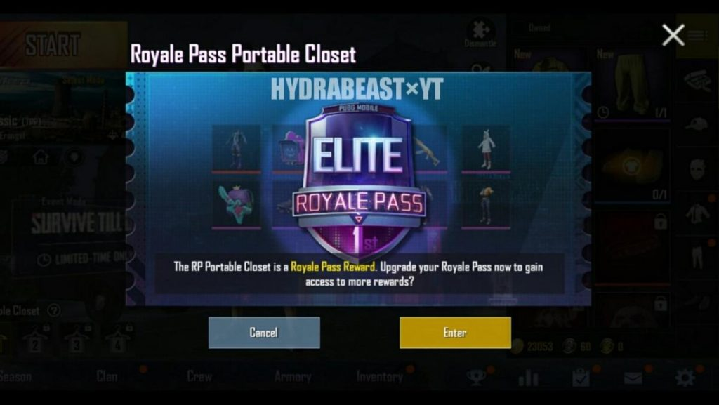 PUBG mobile season 6 royale pass
