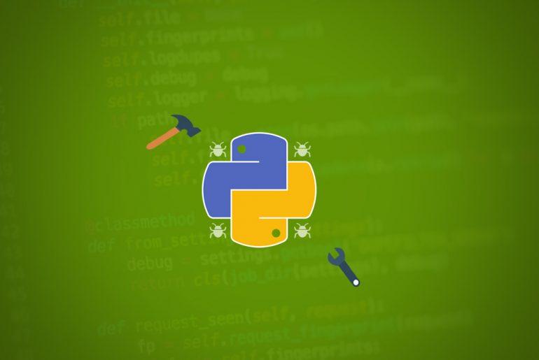 herramientas de corrección de errores para python