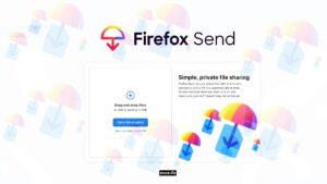 firefox send file sharing service