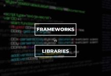 frameworks vs libraries in programming and development