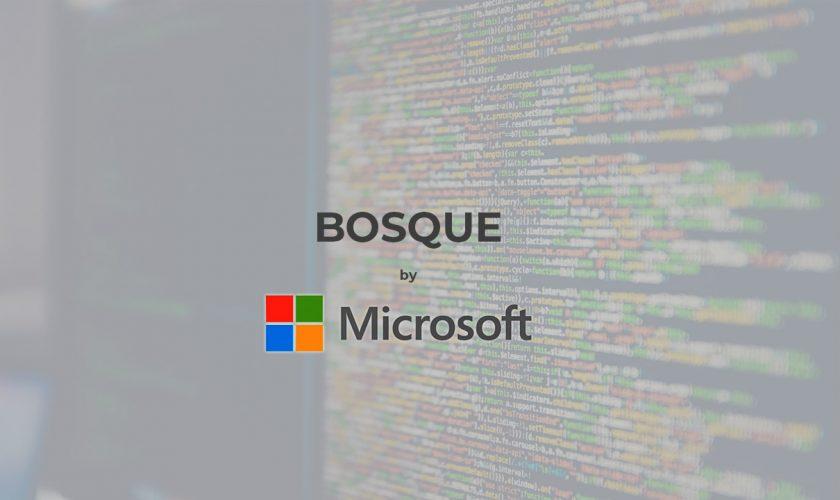 Bosque programming languagebymicrosoft