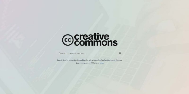 creative common seearch engine