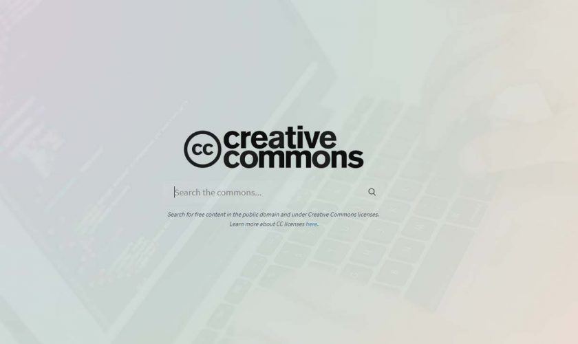 creative common seearch engine