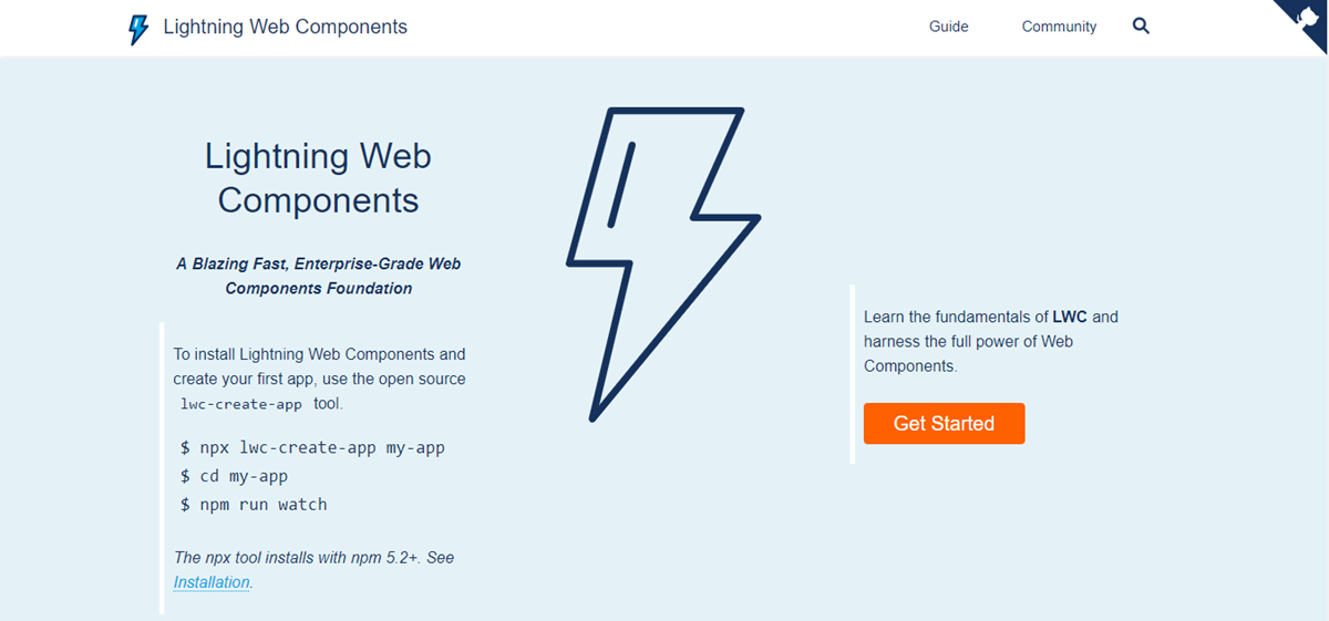salesforce open sources lightning web components