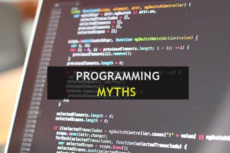 myths about programming