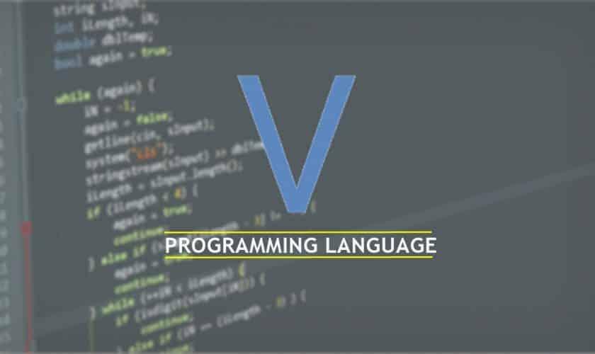 v programming language