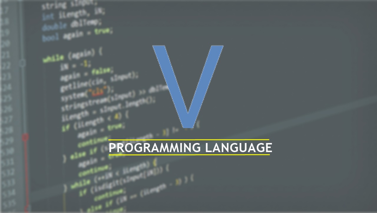 v programming language