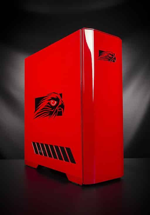 Falcon_Northwest_Mach_V_desktop_PC_painted_in_Audi_Brilliant_Red