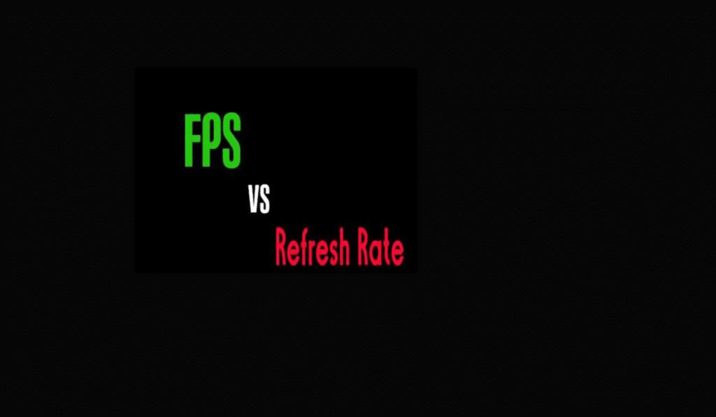 refresh rate vs fps