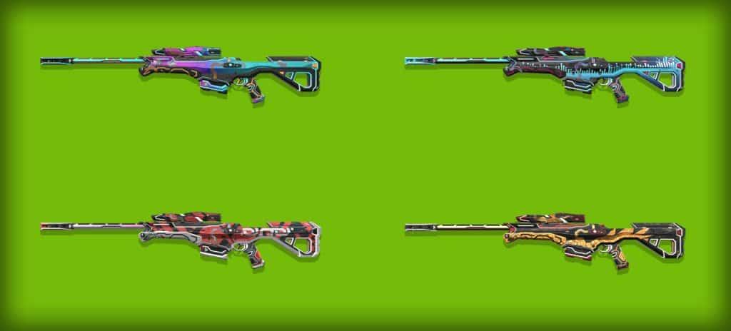 glitchpop operator skins