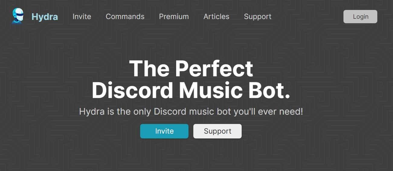 hydra discord music bot