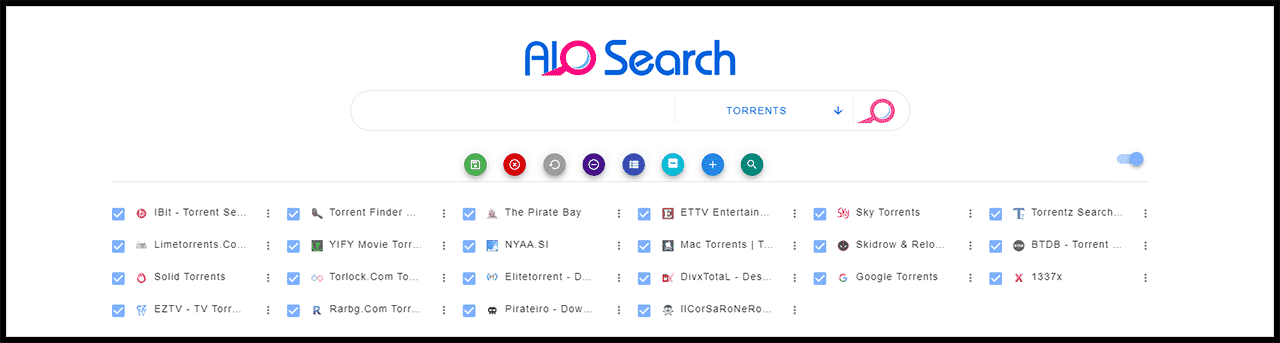 AIO Search - popular torrent engine