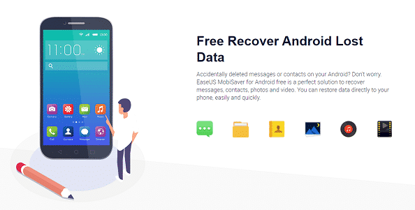 Easeus android file recovery