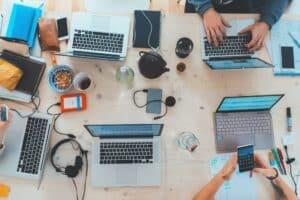 ways technology help business productivity