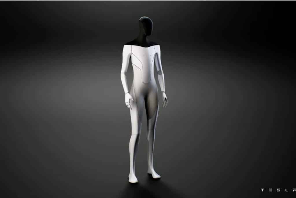 Elon Musk Tesla humanoid robot