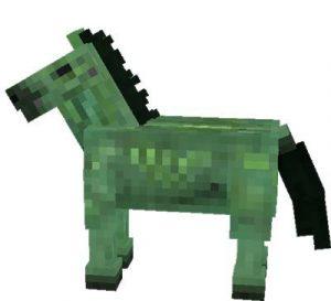 Minecraft Zombie horse