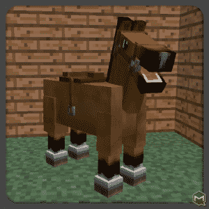 Normal Horses in Minecraft